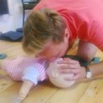 Baby first aid training Taunton